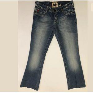 Parasuco Jeans - Parasuco Womens Bootcut Light Wash Denim Jeans